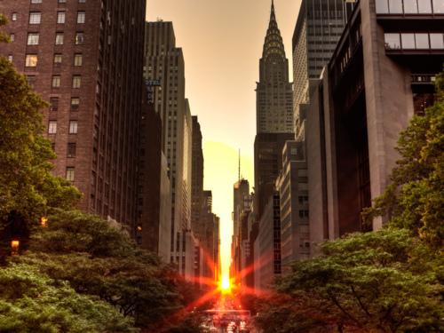Manhattanhenge 2011